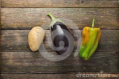 Potato, Eggplant, Pepper