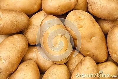 Potato heap