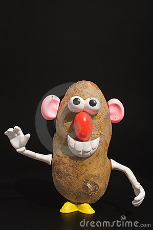 Potato Man Stock Images Image 3243674