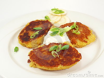 Potato Pancake Royalty Free Stock Image - Image: 11514706