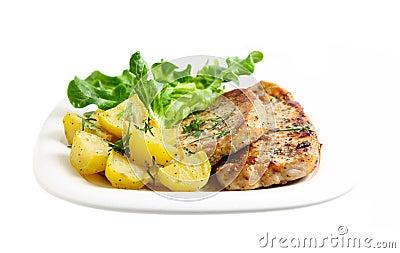 Potato and Pork