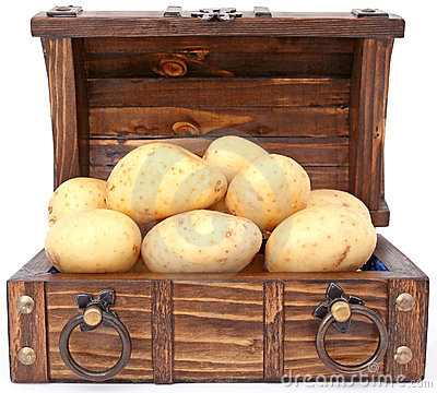 Potato skarb Północnej waluty