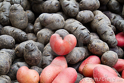 Potatoe heart