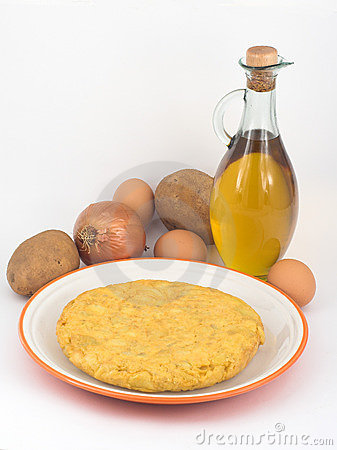 Potatoes omelette