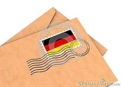 Poteau allemand