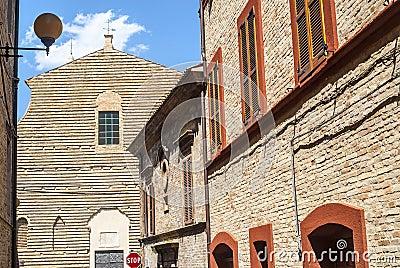 Potenza Picena (Macerata) -古老大厦