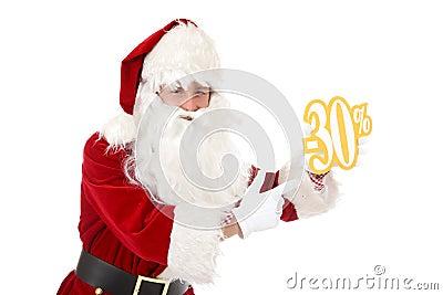 Potomstwa Claus rabata mężczyzna Santa potomstwa