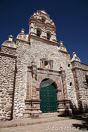 Potosi church, Bolivia