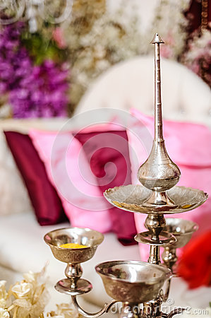Potpourri silver bowls and fragrance pot