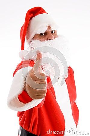 Potrait of santa clause