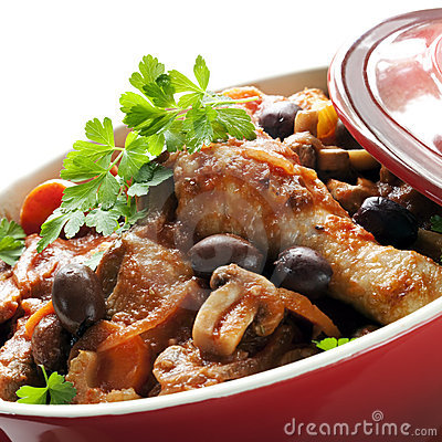 Potrawka kurczak