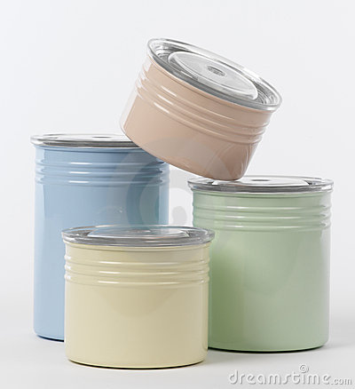 Pots of painting