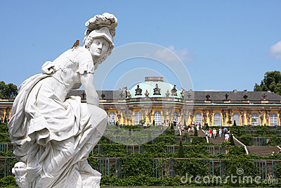 Potsdam palace Editorial Image