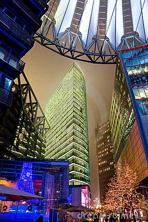 Free Potsdamer Platz, Berlin, Germany. Stock Photography - 12280362
