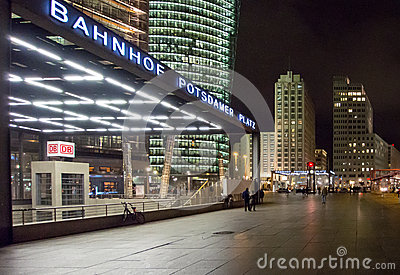 Potsdamer Platz Station Editorial Photo