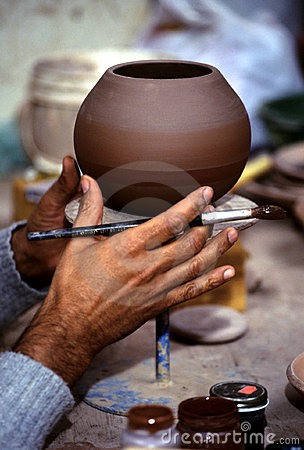 Free Potter- Peru Stock Image - 761701