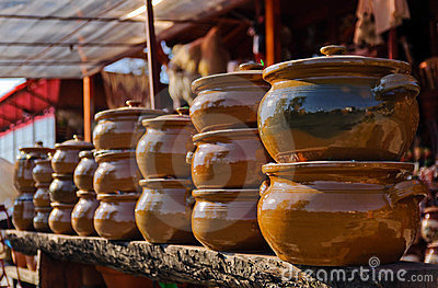 Pottery Royalty Free Stock Image - Image: 23532506