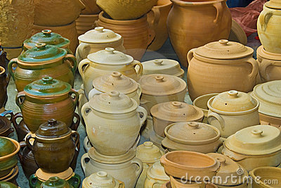 Pottery earthenware