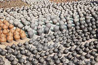 Pottery Making, Bhaktapur, Nepal