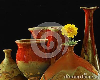 Pottery & Marigold