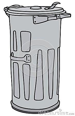 Poubelle illustration de vecteur image 41329539 - Dessin de poubelle ...