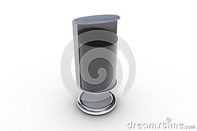 poubelle moderne image stock image 13183501. Black Bedroom Furniture Sets. Home Design Ideas