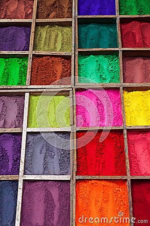 poudre indienne de couleur photo stock image 34787800. Black Bedroom Furniture Sets. Home Design Ideas