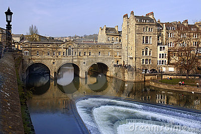 Poultney Bridge - City of Bath - England