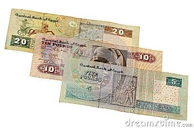 Pound bill of Egypt