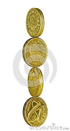 Pound coin balance