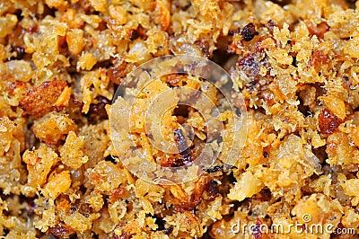 Pound dried prawns