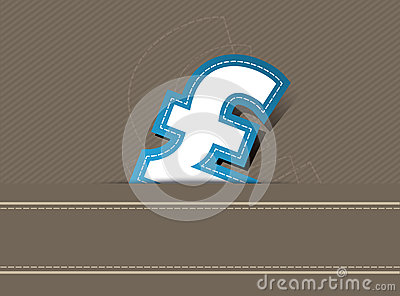 Pound money background design