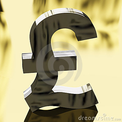 Pound Sign As Symbol For Money Or Cash