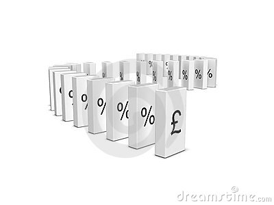 Pound Sterling currency crash. Domino effect