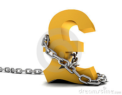 Pound symbol chained