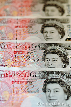 Pounds note - £200 Editorial Stock Image