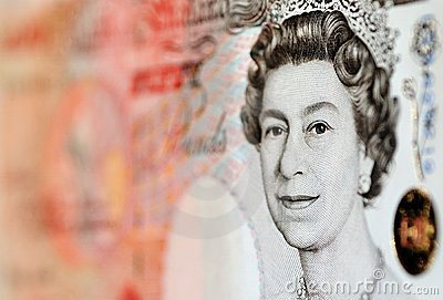 Pounds note - £50 Editorial Photography