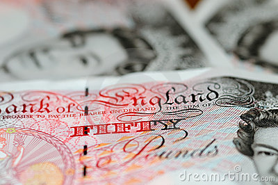 Pounds note - Fifty note Editorial Stock Image