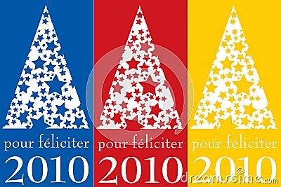 Pour féliciter 2010