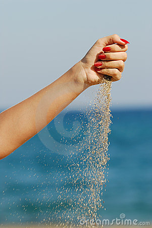 Pour Sand Stock Photos - Image: 12153803