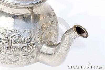 Pour spout of a teapot