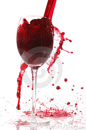 Free Pour Wine Into Glass Stock Images - 1642874