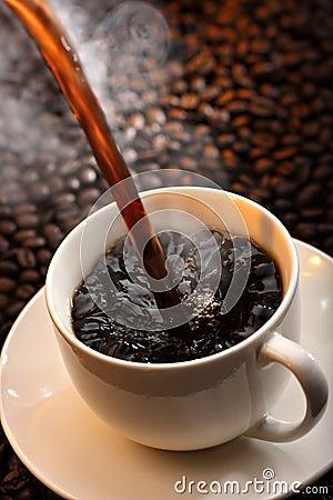 Free Pouring Coffee Stock Photos - 9428263