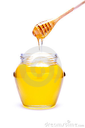 Free Pouring Honey Royalty Free Stock Images - 17398129