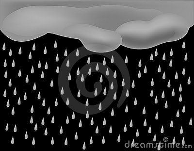 Pouring Rain Background