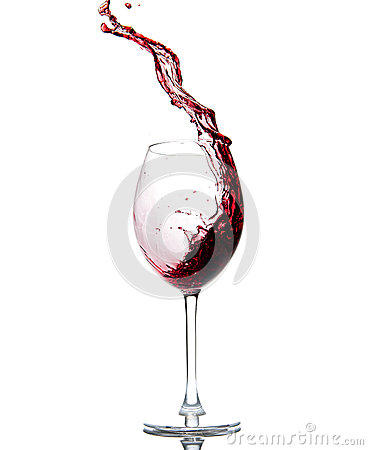 Free Pouring Red Wine Royalty Free Stock Image - 40808696