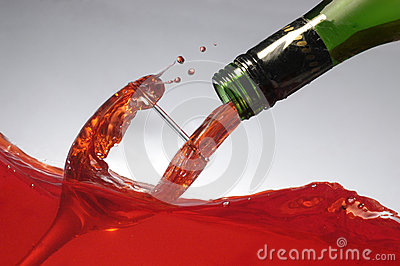 Pouring wine on wine