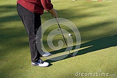 Pousse 02 de golf