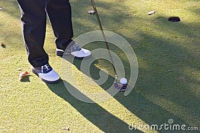 Pousse 03 de golf