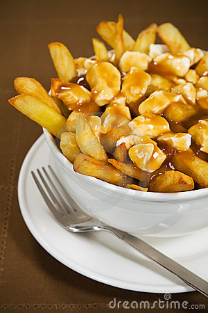 Free Poutine Meal Royalty Free Stock Photography - 18601947